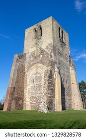 Square Tower of Saint Winoc Abbey, Bergues, Nord Pas de Calais, France