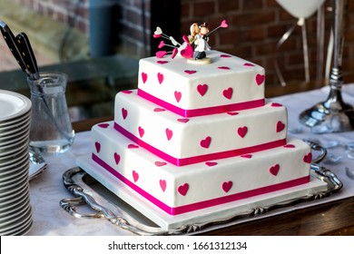 Square Tier Cake Images Stock Photos Vectors Shutterstock