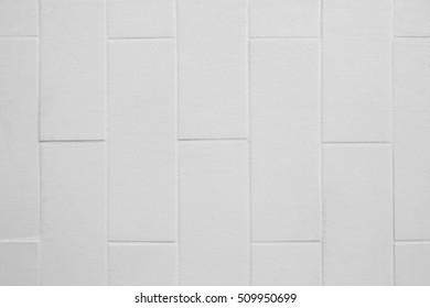 Square white brick wall background