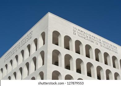 Squared Colosseum Rome