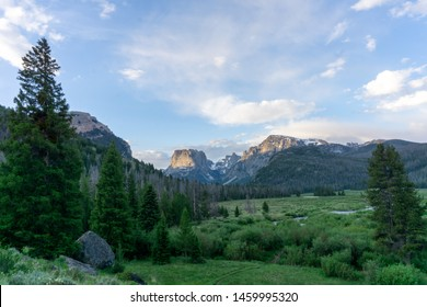 Squaretop Mountain in the Wind River range in Wyoming