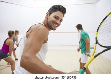 Squash game can give a lot of satisfaction