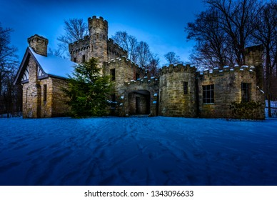 Squire's Castle is an historic landmark in Ohio