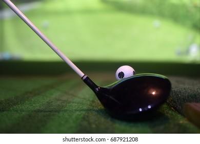 Sreen golf ball