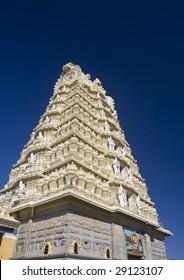 Sri Chamundeshwari Temple on Chamundi Hill in Mysore, India