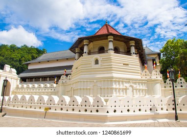Sri Dalada Maligawa or the Temple of the Sacred Tooth Relic is a Buddhist temple in the city of Kandy, Sri Lanka. It is located in the royal palace complex of the former Kingdom of Kandy.