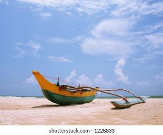 Sri Lanakan fishing boat