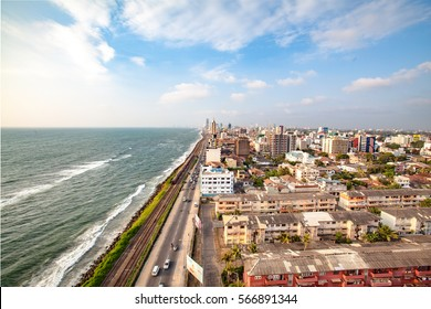 Sri Lanka Colombo, View over the city from a high point of view