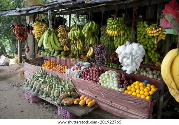 Sri Lanka Fruit Stand