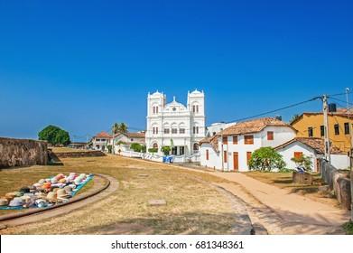 Sri Lanka, Galle, Fort Meeran Jumma Masjid, mosque