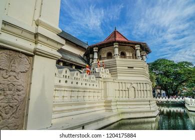 Sri Lanka Kandy townscape (Perahera festival)