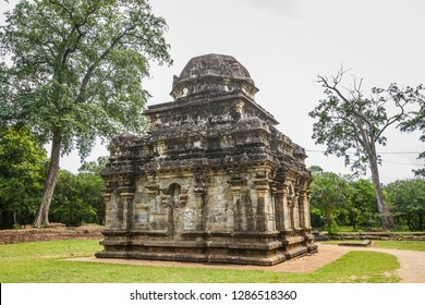 Sri Lanka, Polonnaruwa, Royal Palace of King Parakramabahu. The Palace Complex of King Parakramabahu. Siva Devalaya No. 2