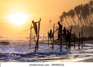 Sri Lanka Stlit-Fisherman