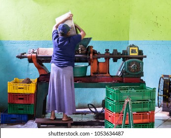 Sri Lanka tea production. Tea factory. Ceylon.