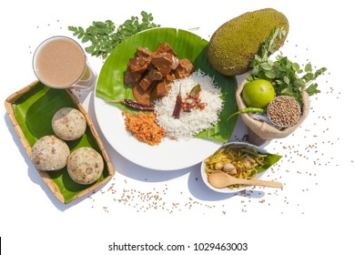 Sri Lankan Food and Fruits