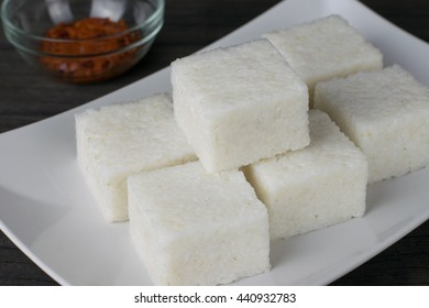 Sri Lankan style milk rice or kiribath