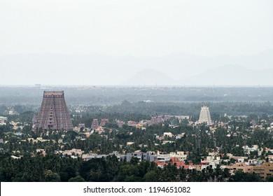 The Sri Ranganathaswamy Temple, thr biggest hindu temple in India, Tiruchirappalli, Tamil Nadu , India