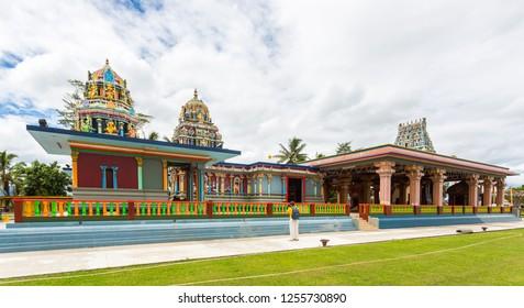 Sri Siva Subramaniya Hindu temple, Nadi town, Fiji islands, Melanesia, Oceania, South Pacific Ocean. TISI Sangam (Then India Sanmarga Ikya Sangam).