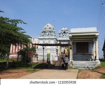 Sri Yoga Narasimha Swamy Temple, Mudigere, Chikkamagaluru district, Karnataka State, India - 13th May 2018 : It was built during Hoysala Empire.