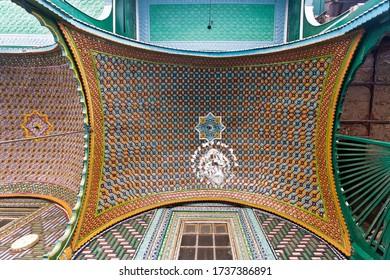 Srinagar, India, 2012: the main prayer room of the Shah E Hamdan R.H Mosque
