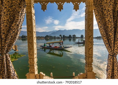 SRINAGAR, KASHMIR (INDIA) - SEPTEMBER 26TH, 2015 - is the largest city of the Indian state of Jammu and Kashmir, famous also for its houseboats that give you a unique esperience and amazing views