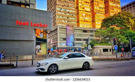 Sriracha, Chonburi THAILAND Oct  14, 2018: Hongkong building landmark concept for tour, business, travel