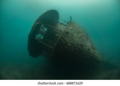SS Thistlegorm stern