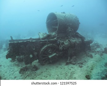 S.S. Thistlegorm Wreck, sunk on 5 October 1941 in the Red Sea and is now a well known dive site.