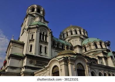 The St. Alexander Nevsky Patriarchal Cathedral, Sofia Bulgaria