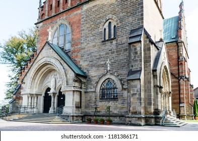 St. Andrews Church in Ciężkowice, Poland.