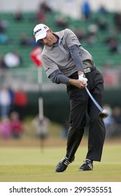 ST ANDREWS, SCOTLAND. July 15 2010: Jim FURYK from the USA in action on the first day of The Open Championship   played on The Royal and Ancient Old Course