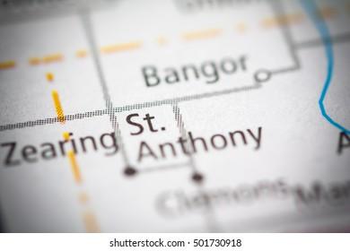 St. Anthony. Iowa. USA.