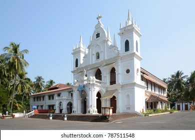 St. Anthony's Church in Siolim, Goa, India.