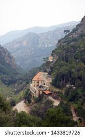 St. Antoine monastery in Kadisha valley, Lebanon