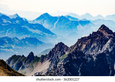 St. Anton am Arlberg in August