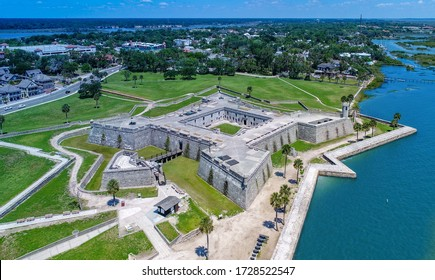 St. Augustine Aerial View of Fort