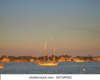 St. Augustine Bay at Sunset