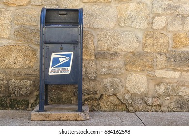 ST. AUGUSTINE, FLORIDA, USA - MARCH 10 2015: United States Postal Service in St. Augustine, Florida, USA.