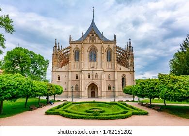 St. Barbara's Church in Kutna Hora, Czech Republic - Shutterstock ID 1782151202