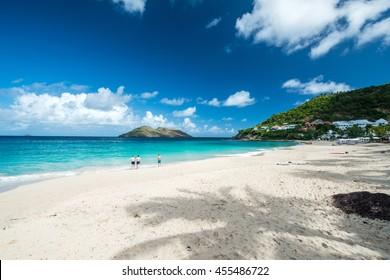 St Barth Island, Caribbean sea