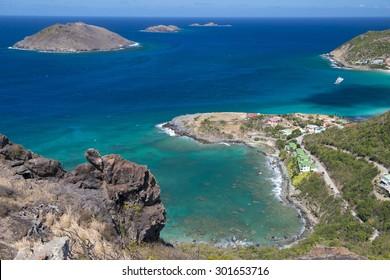 St. Barth Island, French West Indies, Caribbean sea