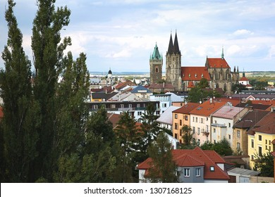 St. Bartholomew's Church in City Kolín, Czech Republic,