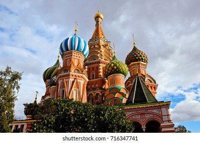 St Basil Cathedral in Moscow city, Russia