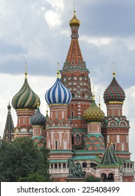 St Basil Cathedral in Moskow