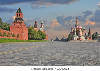 St. Basil's Cathedral and Kremlin