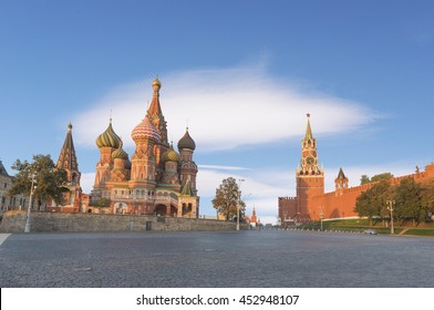 St. Basil's Cathedral ,Moscow russia
