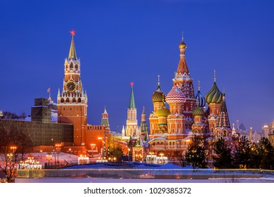St. Basil's Cathedral and Spassky Tower
