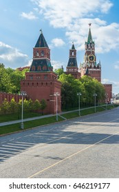 St. Basil's Descent Square in Moscow, Russia