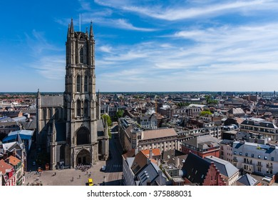 St Bavo's Cathedral in Ghent, Belgium