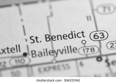 St. Benedict. Kansas. USA.